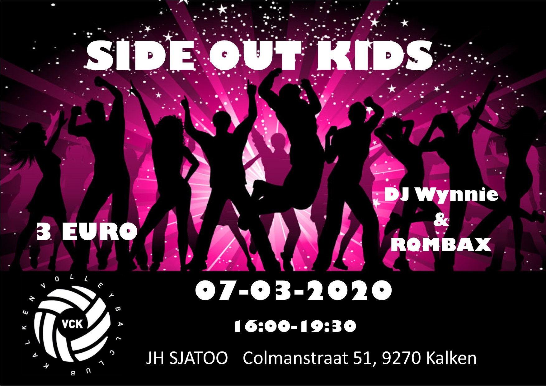 Side out kids - 7 maart 2020